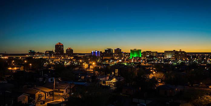 Duke City Sunset by John Dickinson