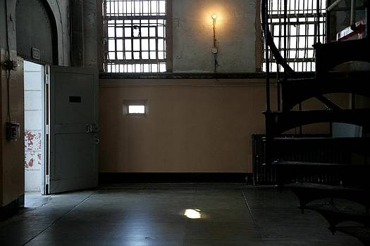 Alcatraz Stairs by Marigan O'Malley-Posada