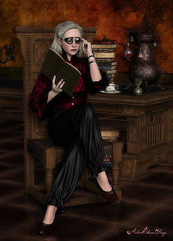 Alchemist at Study by Rachel Dudley