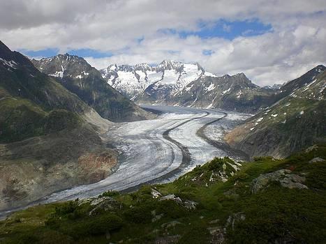 Aletsch Glacier by Xanat Flores