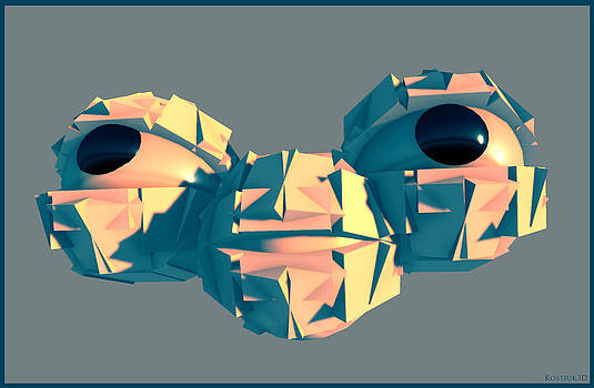 Thomas Olsen - Alien head 060414
