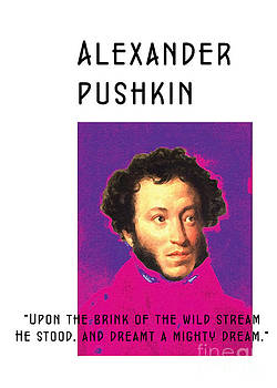 Alexander Pushkin Poster  by Theodora Brown