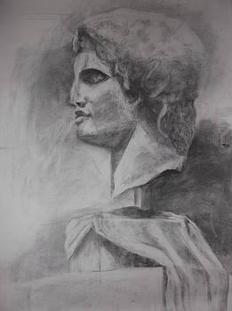 Alexander the Great Profil by Annamaria Shkurti