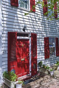 David Zanzinger - Alexandria Virginia classic red door