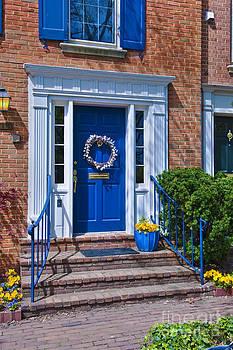 David Zanzinger - Alexandria Virginia Old Town Door