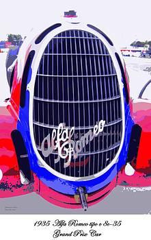 Alfa Romeo tipo c 8c-35 by Don Struke