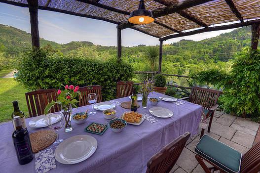 Matt Swinden - Alfresco Dining in Tuscany