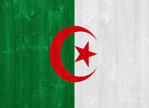 Algeria flag by Luis Alvarenga