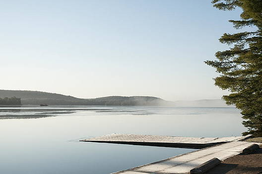 Algonquin - Dock o the BAy by Alan Norsworthy