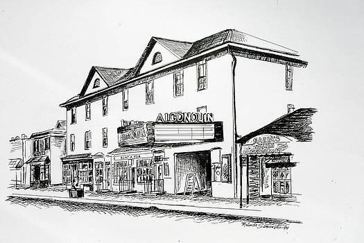Algonquin Theater Manasquan NJ by Melinda Saminski