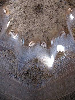 Alhambra Ceiling by Stefanie Weisman