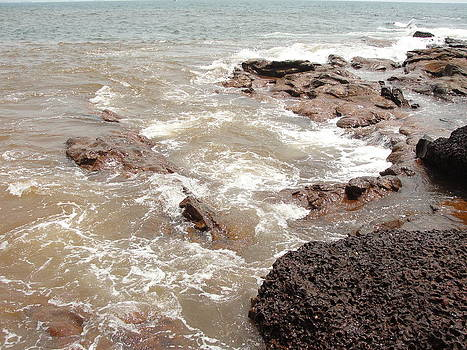 Alibaug beach  by Makarand Kapare