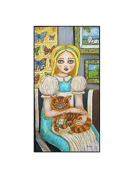 Alice and the Cheshire Cat by Shannon Nicole