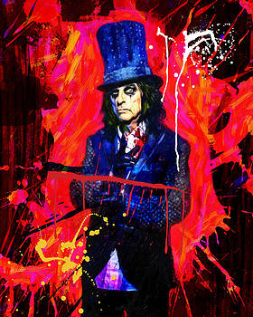 Alice Cooper  by Manish Mansinh