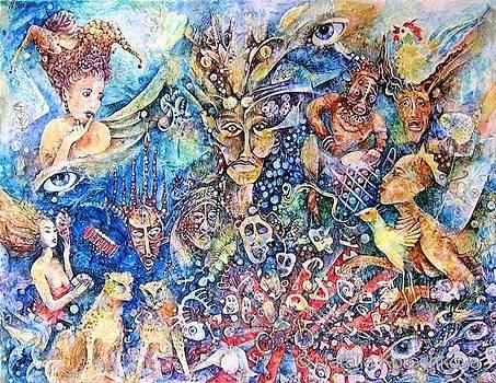 Alice In Voodooland  by Natalia Koreshkova
