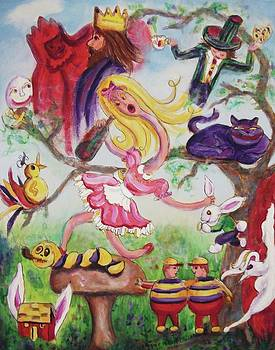 Suzanne  Marie Leclair - Alice in Wonderland