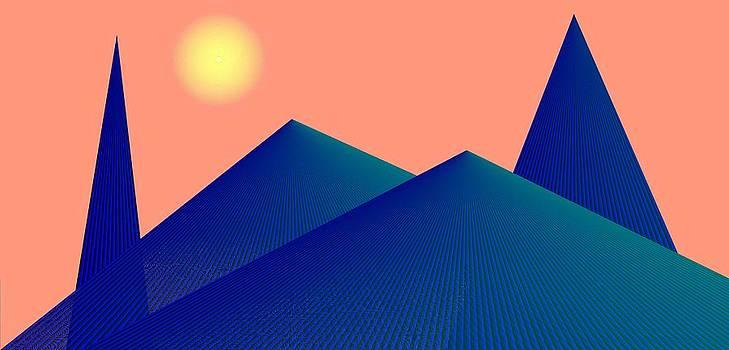 Alien Fortress Four by Joel Kahn