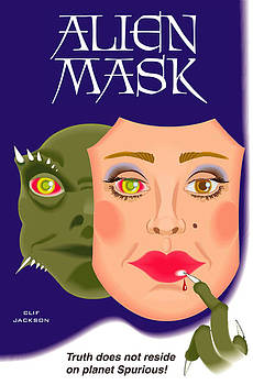 Alien Mask by Clif Jackson