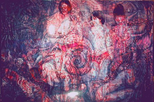 Alien orgy II by Leigh Odom