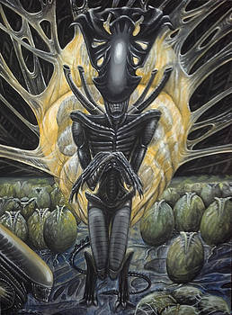 Alien Queen and Her Hive by Jennifer Hotai