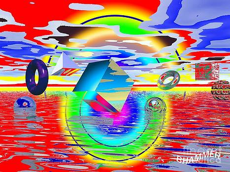 Alien Sunset by Bobby Hammerstone