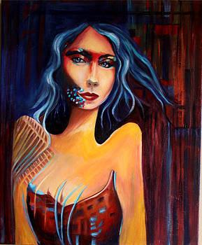 Alien Woman by Hope Mastroianni