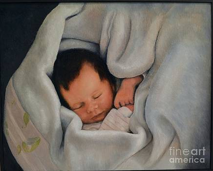 All bundled up with sweet dreams by Ralph Taeger
