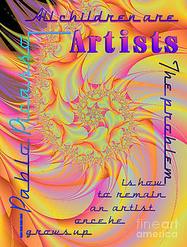 All Children Are Artist by Dana Haynes