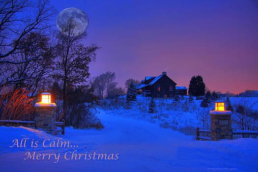 Wayne Moran - All is Calm Christmas Card