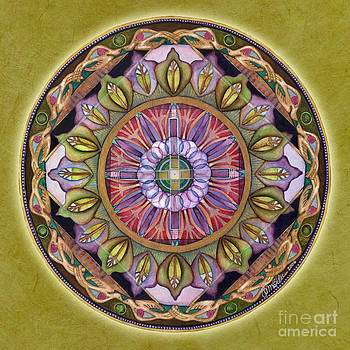 All is Well Mandala by Jo Thomas Blaine