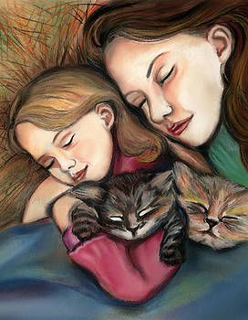 All Snuggled Up by Melanie Alcantara Correia