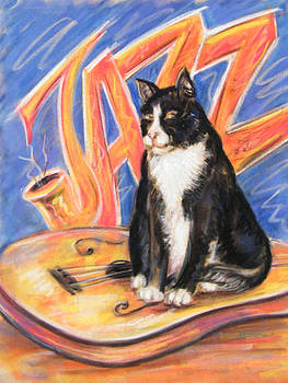 All That Jazz Cat by Julie Lemons