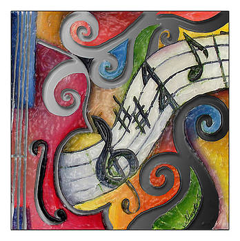 All that Jazz violin by Stacy V McClain
