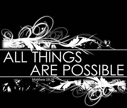 All Things are Possible by Sabrina Farmer