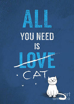 All you need is a cat by Joanna Cieslinska