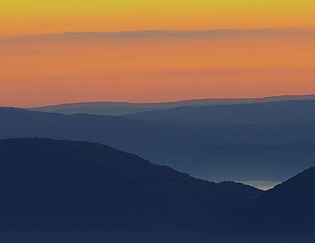 Allegheny Mountain Morning by Michael Donahue