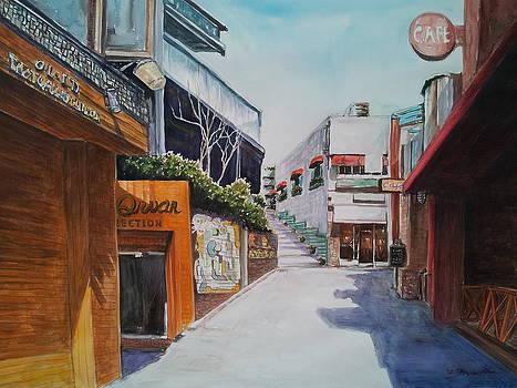 Alley cafe by Bryan Ahn