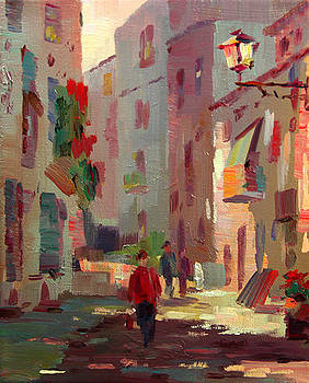Alley Sunshine by Tony Song