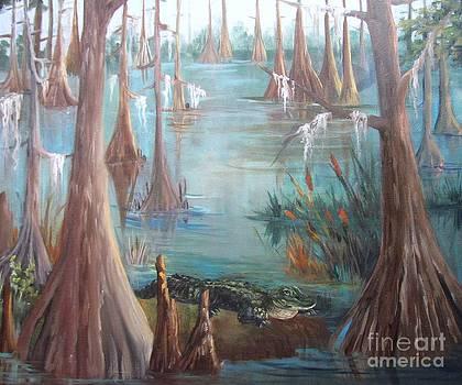Alligator Bayou by Barbara Haviland