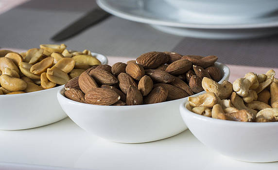 Newnow Photography By Vera Cepic - Almonds nuts and cashew