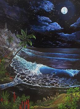 Aloha Luna by Kevin F Heuman
