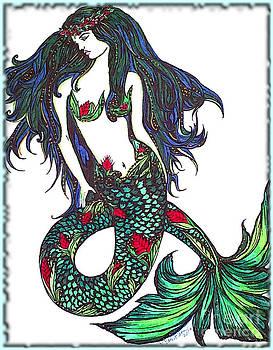 Aloha Mermaid by Valarie Pacheco