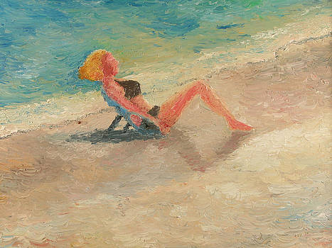 Alone at the Beach by Matthew Young