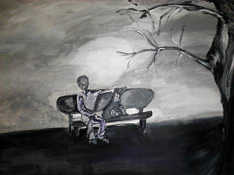Alone time by Feyi K Okwudibonye