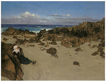 James Abbott McNeill Whistler - Alone with the tide