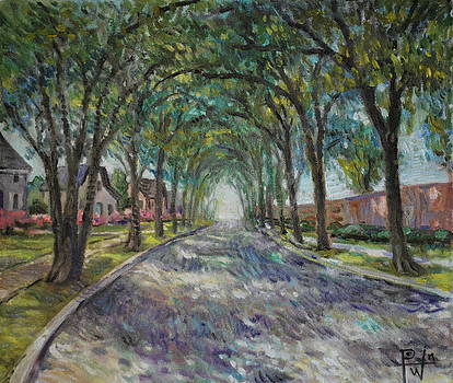 Along the Azalea Trail by Henry David Potwin