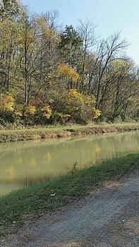 Along the Canal by Jennifer Fliegel