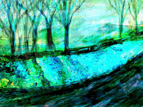 Along the River  by Anke Wheeler