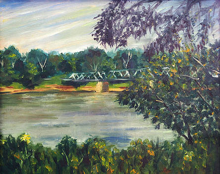 Along the River by Joseph Levine