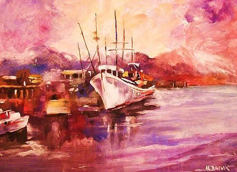 Along the Wharf by Al Brown